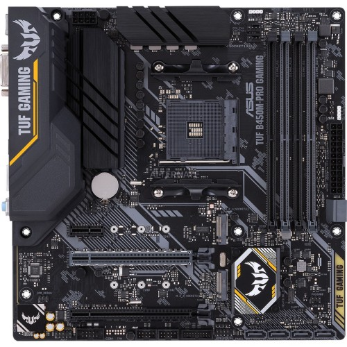 ASUS TUF B450M-PRO GAMING motherboard Socket AM4 Micro ATX AMD B450
