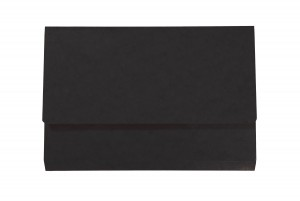 Iderama Foolscap Pocket Wallet - Black PK10