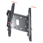 "Unicol PZW3U flat panel wall mount 177.8 cm (70"") Black"