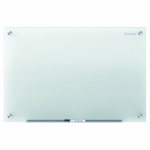 QUARTET INFINITY GLASS BOARD 895X635 FROSTED