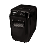 Fellowes AutoMax 200M paper shredder Micro-cut shredding Black
