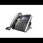 POLY VVX 401 teléfono IP Negro Terminal con conexión por cable TFT 12 líneas