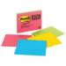 Post-It Super Sticky Notes, 8 in x 6 in, Assorted Bright Colors, 4 Pads/Pack self-adhesive note paper