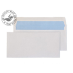 Blake Purely Everyday White Gummed Wallet 89X152mm 80gsm (Pack 50)