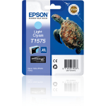 Epson Turtle T1575 Tintenpatrone 1 Stück(e) Original Hohe (XL-) Ausbeute Helle Cyan