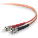 Belkin 5m ST - ST 5m ST ST Orange fiber optic cable