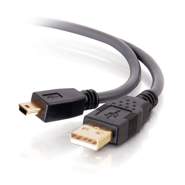 C2G Cable de 3 m Ultima USB 2.0 A A Mini-B (9,8 Pies)