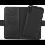 eSTUFF iPhone XR Leather Wallet mobile phone case Wallet case Black