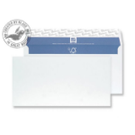 Blake Premium Pure Wallet Peel and Seal Super White Wove DL 110X220mm 120gsm (Pack 50)