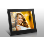 "Aluratek ASDPF08F digital photo frame 8"" Black"