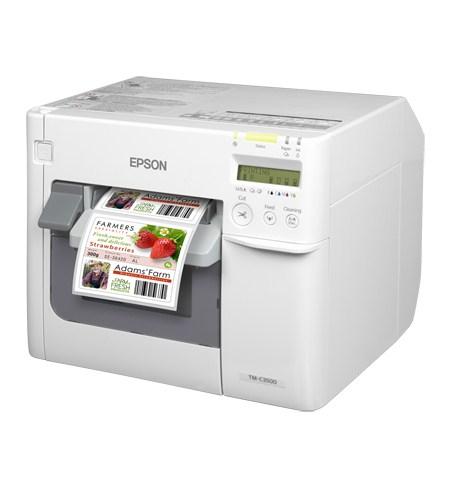Epson TM-C3500 labelprinter Inkjet Kleur 720 x 360 DPI Bedraad