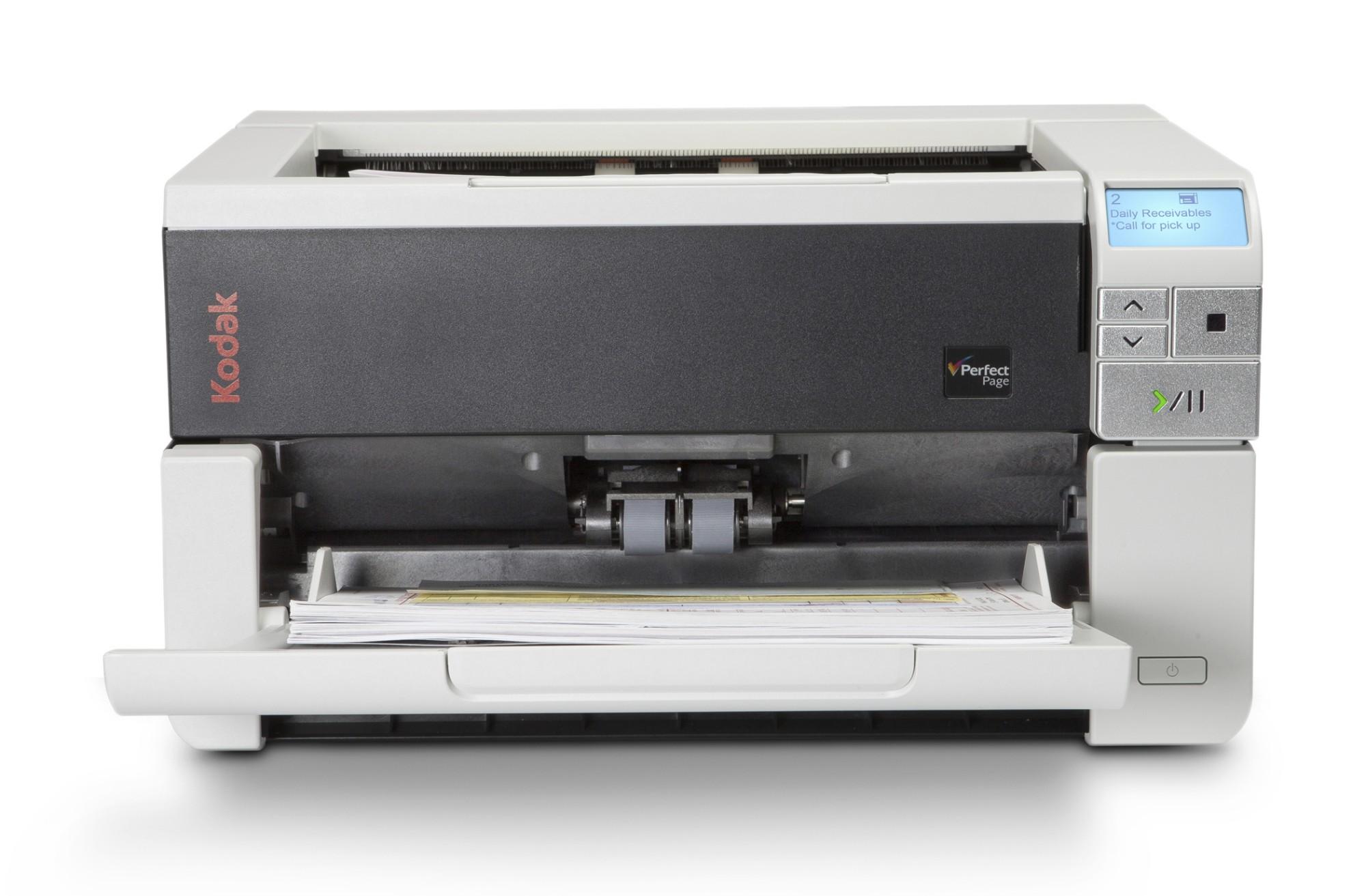 Kodak i3200 Scanner 600 x 600 DPI Escáner con alimentador automático de documentos (ADF) Negro, Gris A3