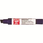 Pentel Jumbo Felt Chisel tip Black 6pc(s) permanent marker