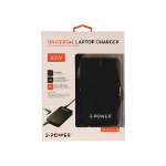 2-Power Slim Universal 90W Laptop & USB Charger