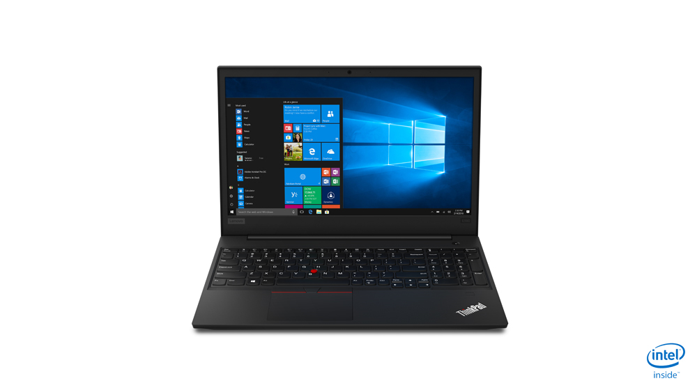 "Lenovo ThinkPad E590 Zwart Notebook 39,6 cm (15.6"") 1920 x 1080 Pixels Intel® 8ste generatie Core™ i5 i5-8265U 8 GB DDR4-SDRAM 512 GB SSD"