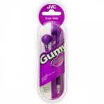 JVC HA-G160 Gumy In-Ear Headphones Violet