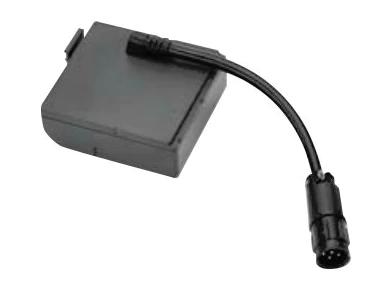 Zebra P1050667-041 accesorio para dispositivo de mano Puerta de compartimento de batería Negro