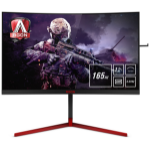 "AOC Gaming AG273QCG computer monitor 68.6 cm (27"") 2560 x 1440 pixels Wide Quad HD LED Curved Black,Red"