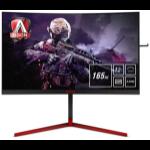 """AOC Gaming AG273QCG pantalla para PC 68,6 cm (27"""") 2560 x 1440 Pixeles Wide Quad HD LED Curva Negro, Rojo"""