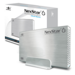 "Vantec NST-366S3-SV storage drive enclosure 3.5"" Silver"