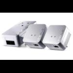 Devolo dLAN 550 WiFi Network Kit 500 Mbit/s Ethernet LAN Wi-Fi White 3 pc(s)