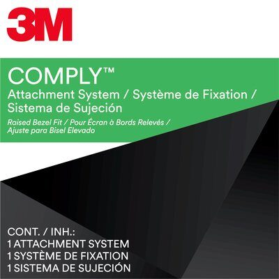3M Comply Attachment Set - Bezel Type - Notebook privacy filter - 10.1