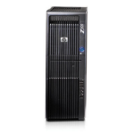HP Z600 arbetsstation i basmodell Mini-Tower Black