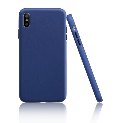 Garbot Corium Nappa Leather Case for Iphone XS Max Cobalto Blue