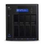Western Digital My Cloud EX4100 Ethernet Escritorio Negro NAS