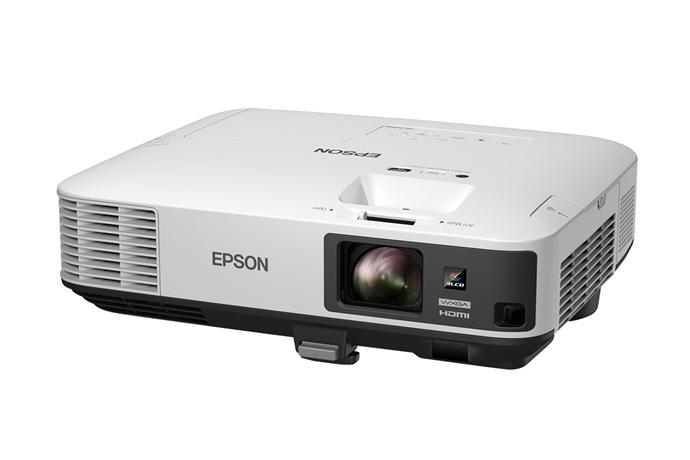 Epson PowerLite 2165W Desktop projector 5500ANSI lumens 3LCD WXGA (1280x800) Black,White data projector