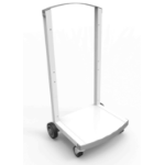 Maclocks CartiPad Tablet Multimedia cart White