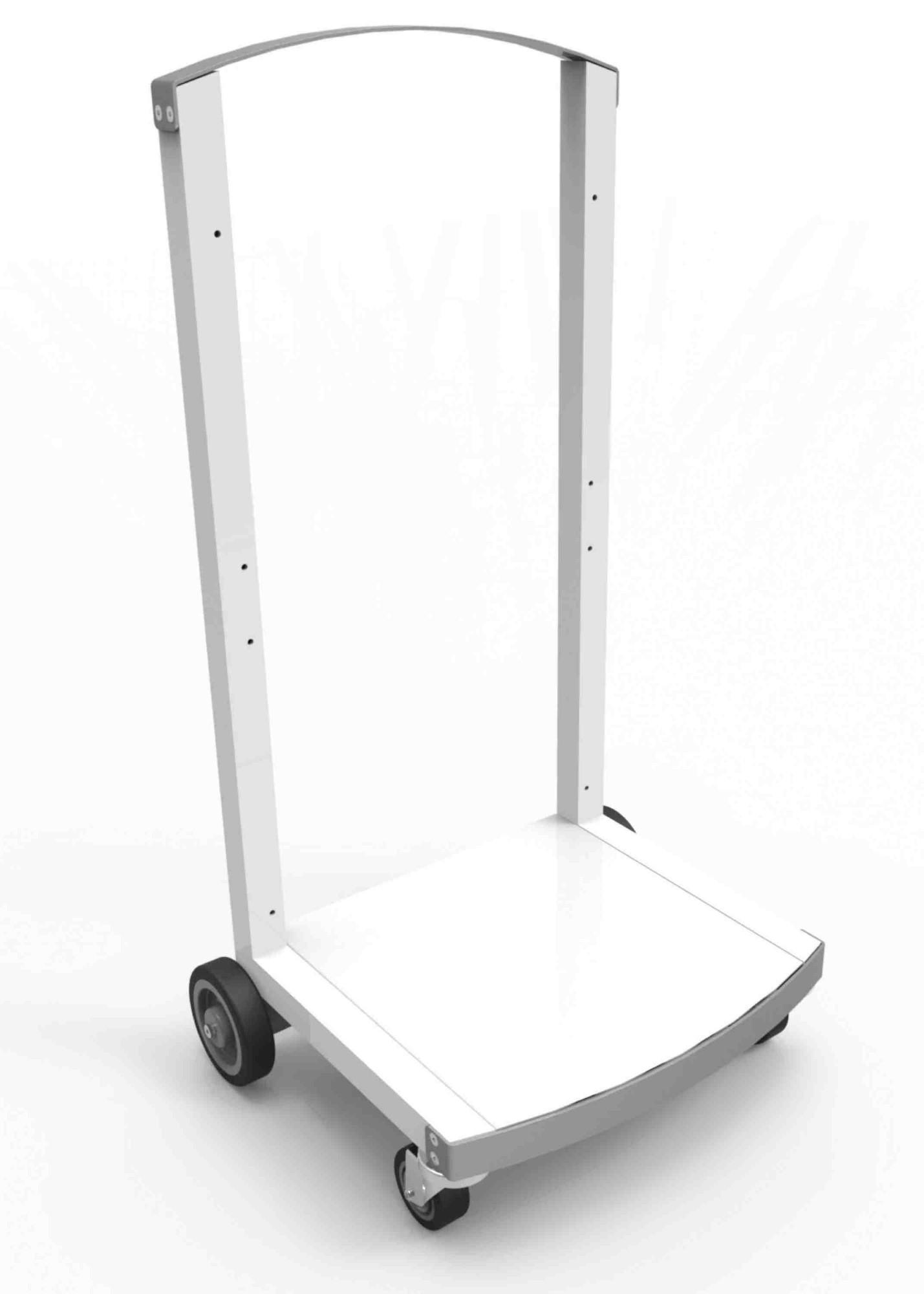 Compulocks CartiPad Multimediawagentje Wit Tablet