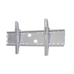 "Newstar TV/Monitor Wall Mount (fixed) for 37-85"" Screen - Silver"