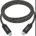 Vision TC-1MUSBC-HQ cable USB 1 m 3.2 Gen 1 (3.1 Gen 1) USB C Negro, Blanco