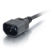 C2G 1m 18 AWG Computer Power Extension Cord (IEC320C13 to IEC320C14)