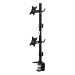 "Amer AMR2CV 24"" Clamp Black flat panel desk mount"