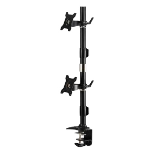 Dual Monitor Mount Vertical Clamp