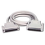 C2G 2m DB37 M/F Cable DB37 FM White
