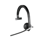 Logitech H820e Monaural Head-band Black