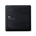 Western Digital My Passport Wireless Pro Wi-Fi 2000GB Black external hard drive