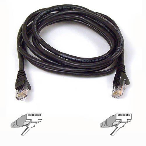 Patch Cable - CAT6 - utp - Snagless - 50cm - Black