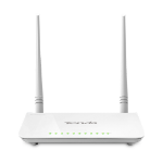 Tenda D303 Dual-band (2.4 GHz / 5 GHz) Fast Ethernet 3G White wireless router