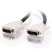 C2G 2m DVI-I M/M Dual Link Cable cable DVI Negro
