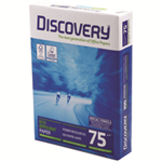 DISCOVER Y A4 75GSM WHITE PAPER PK2500