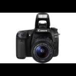 Canon 80D + EF-S 18-135mm IS USM Juego de cámara SLR 24,2 MP CMOS 6000 x 4000 Pixeles Negro