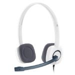 Logitech H150 Binaural Head-band White headset