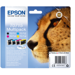 Epson C13T07154012 (T0715) Ink cartridge multi pack, 7,4ml+3x5,5ml, Pack qty 4