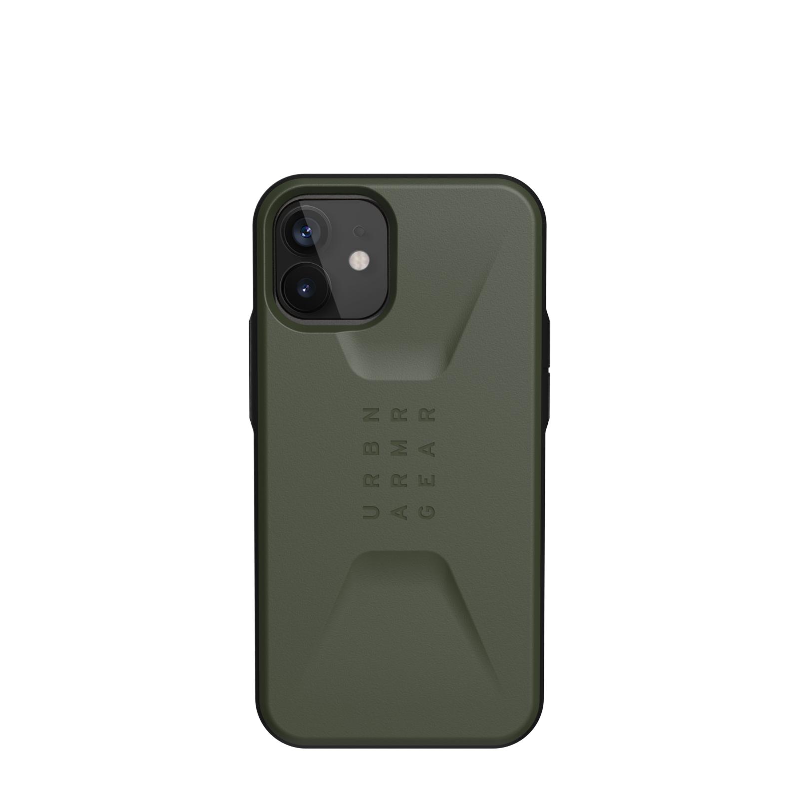 "Urban Armor Gear Civilian funda para teléfono móvil 13,7 cm (5.4"") Oliva"