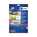 Avery Quick&Clean 85 x 54 mm (x25) 250pc(s) business cardZZZZZ], C32016-25