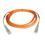 Tripp Lite Duplex Multimode 50/125 Fiber Patch Cable (LC/LC), 1M